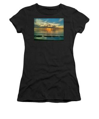 Sunset At Carlsbad Women's T-Shirt