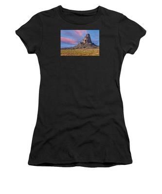 Sunset On Agathla Peak Women's T-Shirt