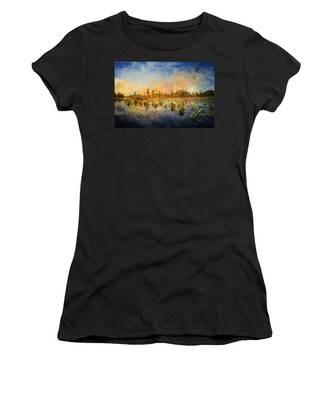 Sunset Over The Okefenokee Women's T-Shirt