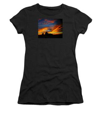 Sunset Ybor City Tampa Florida Women's T-Shirt