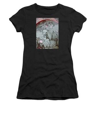 Women's T-Shirt featuring the photograph Tectonic With Sky Above And Below by Cliff Spohn