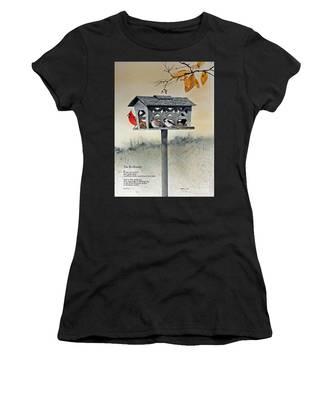 The Birdfeeder Women's T-Shirt