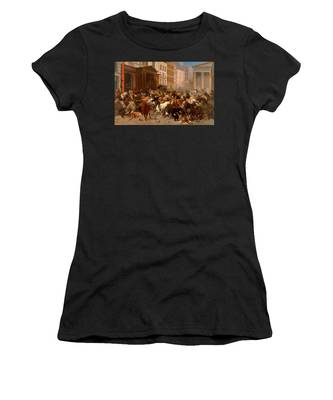 The Bulls And Bears In The Market Women's T-Shirt