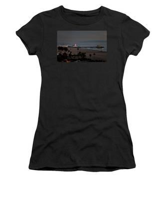 The Pier After Dark Women's T-Shirt