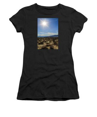 Women's T-Shirt featuring the photograph The Sun by Break The Silhouette