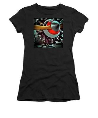 The Vintage Stearman C-3b Biplane Women's T-Shirt