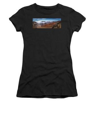 Top Of Haleakala Crater Women's T-Shirt