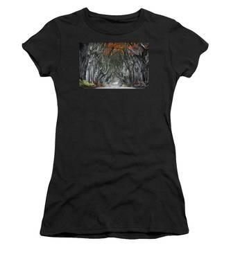 Trees Embracing Women's T-Shirt