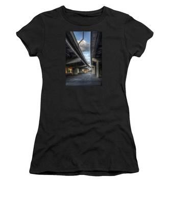 Under The Overpass II Women's T-Shirt by Break The Silhouette