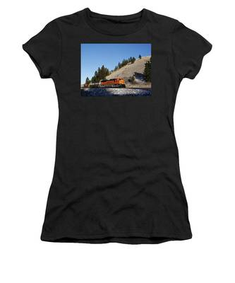 Up Hill And Into The Sun Women's T-Shirt