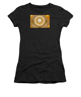Women's T-Shirt featuring the photograph Virginia Capitol - Dome by Jemmy Archer