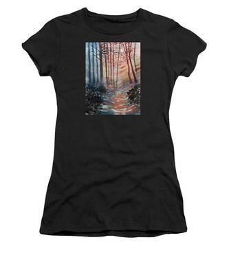 Wander In The Woods Women's T-Shirt