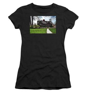 The John Whipple House In Ipswich Women's T-Shirt