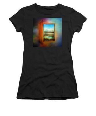 Window To Anywhere Women's T-Shirt