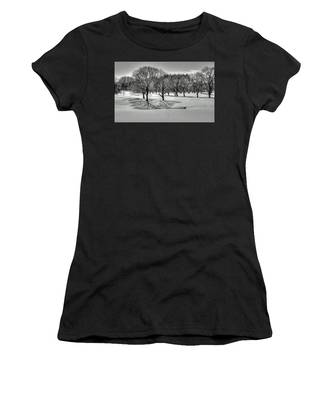 Winter Trees Women's T-Shirt
