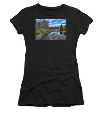 Woodhull Creek In May Women's T-Shirt