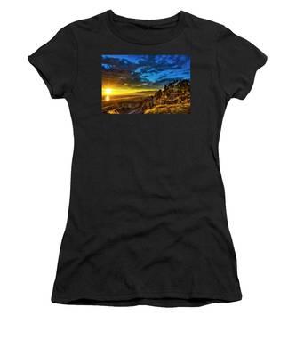 Santa Monica Bay Sunset - 10.1.18 # 1 Women's T-Shirt