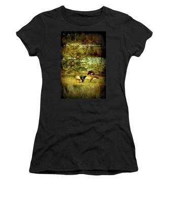 By The Little Tree - Lake Carasaljo Women's T-Shirt