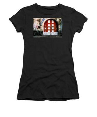 Doors Of India - Garage Door Women's T-Shirt