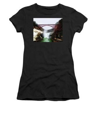 Frletchworth Railroad And Falls Women's T-Shirt
