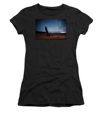 Gower Helvetia At Night  Women's T-Shirt