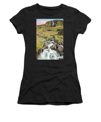 Iceland Waterfall Women's T-Shirt