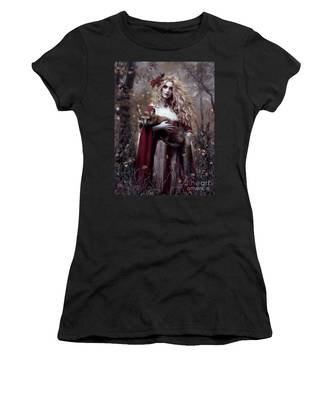 Lady And The Fox Women's T-Shirt