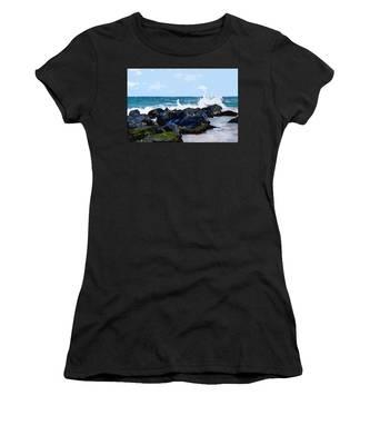 Ocean Meets The Coast Women's T-Shirt