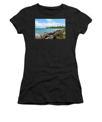 Orange Bay In Portland Jamaica Women's T-Shirt