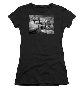Ready To Go In Bw Women's T-Shirt