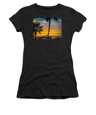 Sunset On The Island Women's T-Shirt