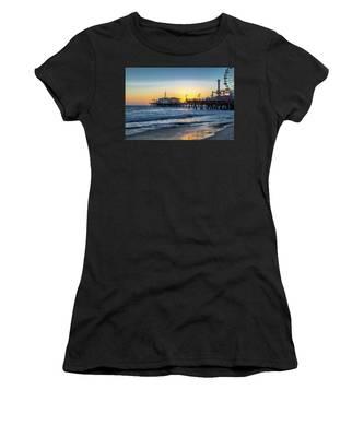 Sunset Under The Pier Women's T-Shirt