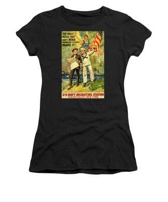 The Navy Needs You Women's T-Shirt