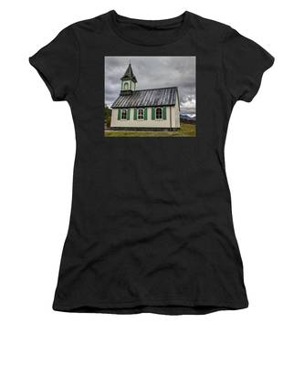 Tiny Church Of Iceland Women's T-Shirt