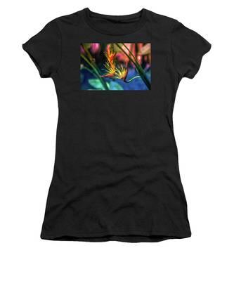 Vibrant Jungle Bird Women's T-Shirt