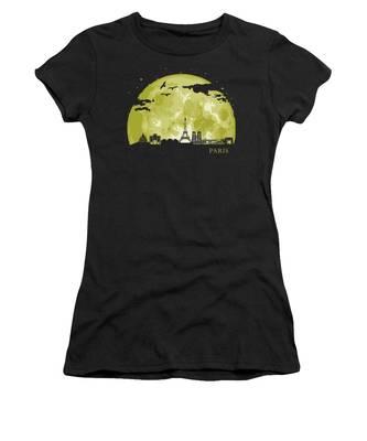 France Paris Women's T-Shirts