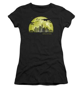 Skyscrapers Women's T-Shirts