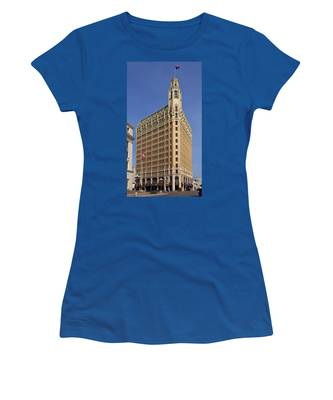 Women's T-Shirt featuring the photograph Emily Morgan Hotel by Jemmy Archer