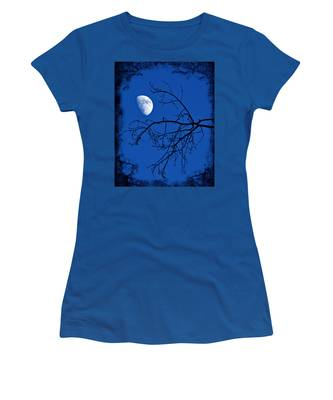 Women's T-Shirt featuring the photograph Haunted by Jemmy Archer