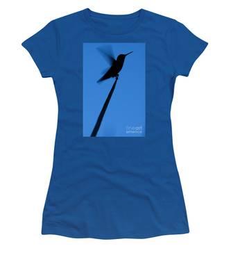Hummingbird Silhouette Women's T-Shirt