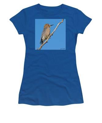 Male Gila Woodpecker Women's T-Shirt