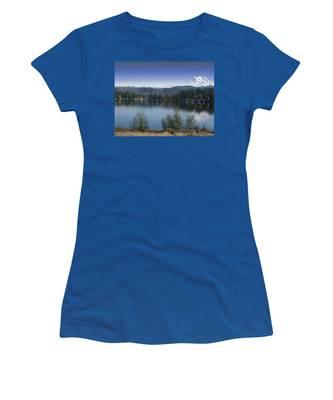 Mount Rainier In The Fall Women's T-Shirt