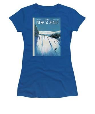 New Yorker January 20th, 1973 Women's T-Shirt