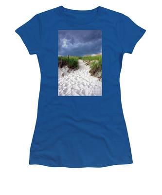 Sand Dune Under Storm Women's T-Shirt