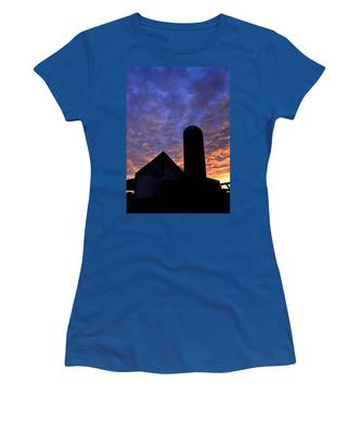 Barnyard Sunrise I Women's T-Shirt