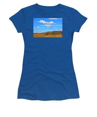 Cloudy Wyoming Sky Women's T-Shirt