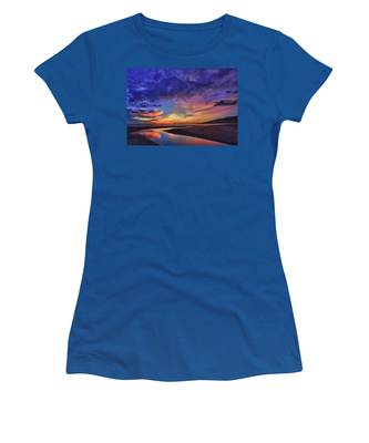 Flowing Out To The Ocean Women's T-Shirt