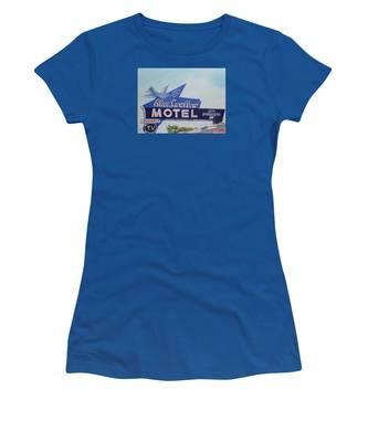 Blue Swallow Women's T-Shirt