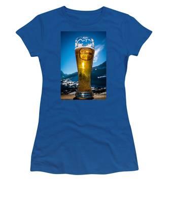 Edelweiss Beer In Kirchberg Austria Women's T-Shirt