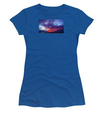 Hand Of God At Sunrise Women's T-Shirt